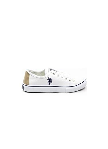 U.S. Polo Assn. Kadın Ayakkabı Toga 100918930 Beyaz